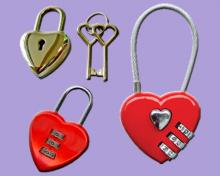 HEART SHAPE PADLOCKS